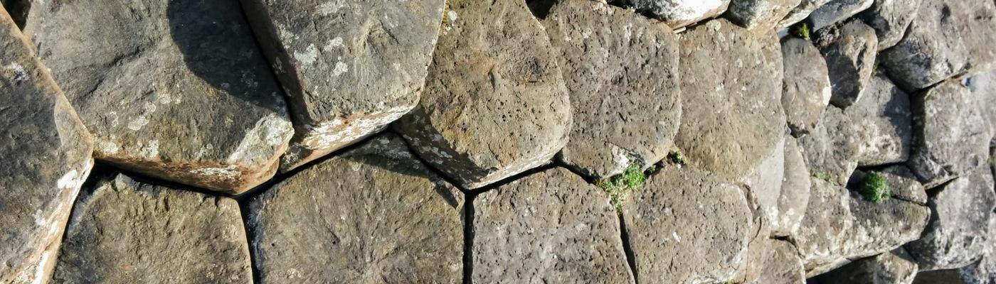 Giant's Causeway step stones