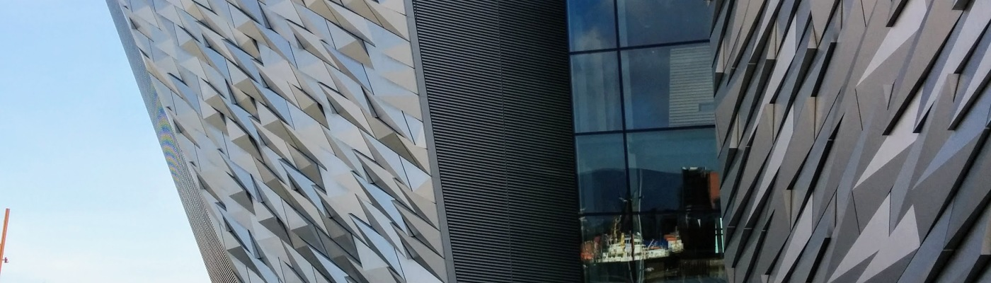 Titanic Museum Belfast enterance