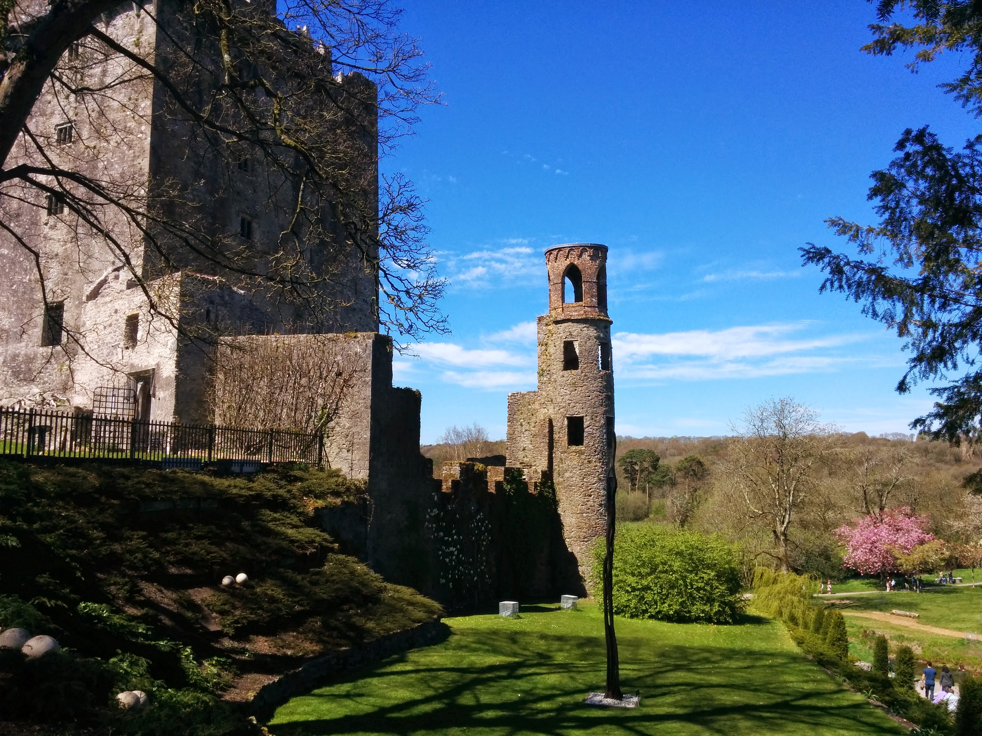 Blarney Castle tower and battlements